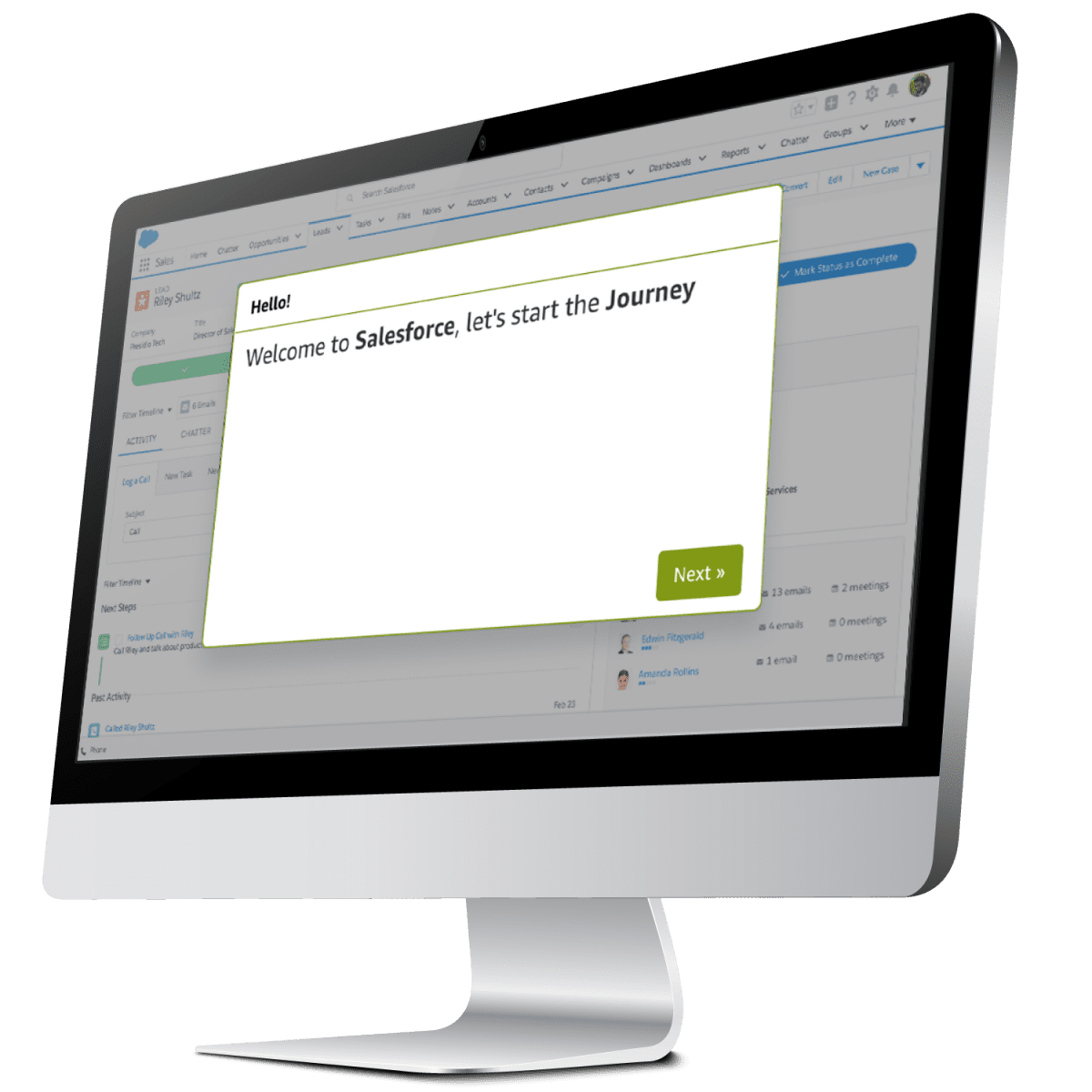 salesforce user journey