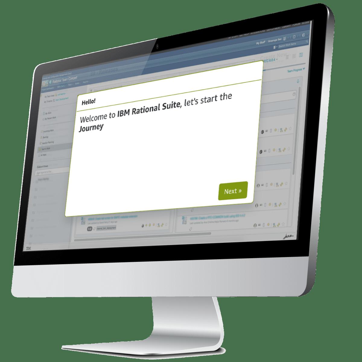 ibm rational user journey