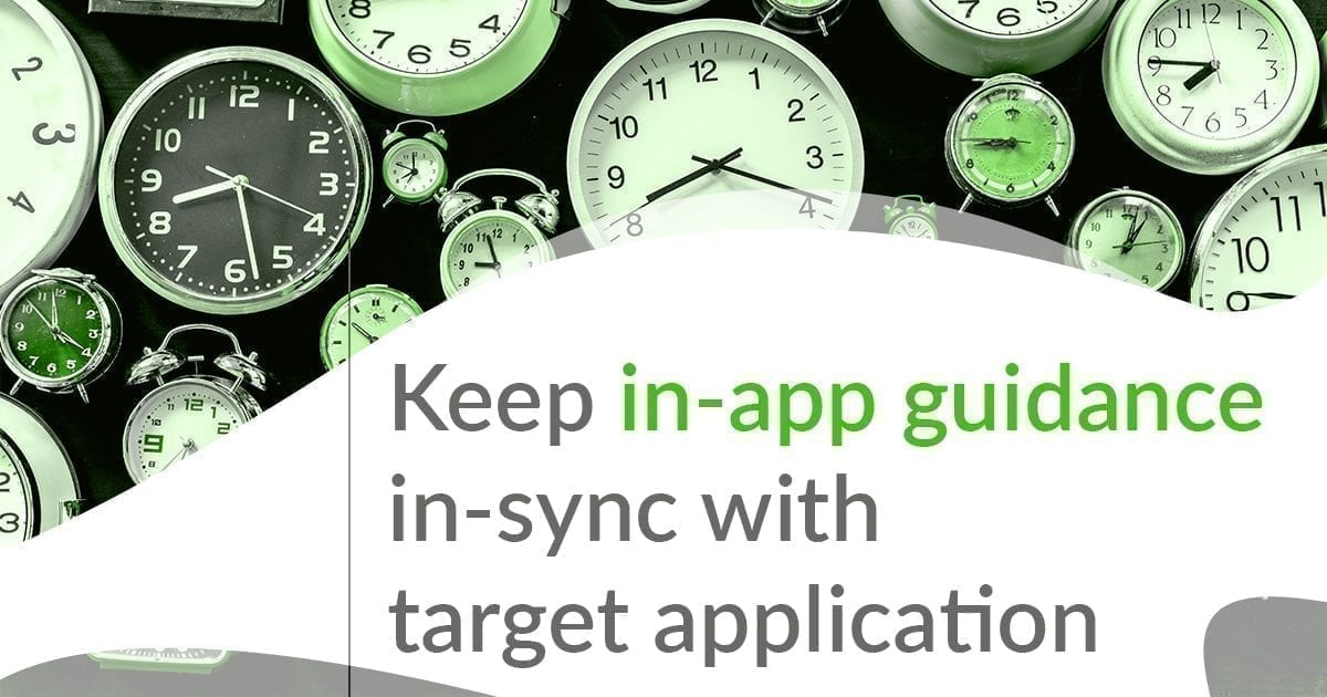in-app synch